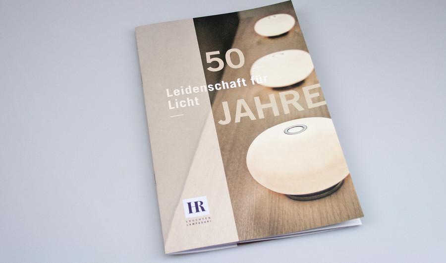 Hr leuchten u2013 new brand image for the golden jubilee werbecompany